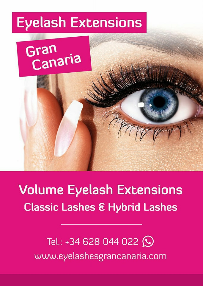 Eyelash Extensions Gran Canaria